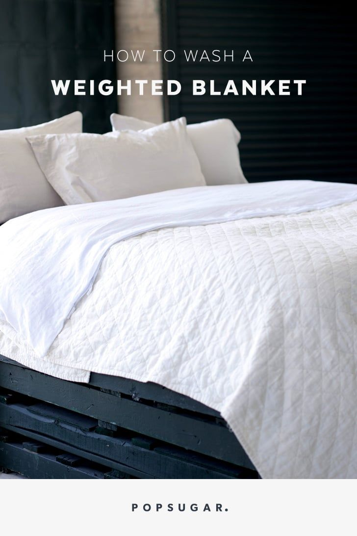 We asked experts how to clean a weighted blanket because