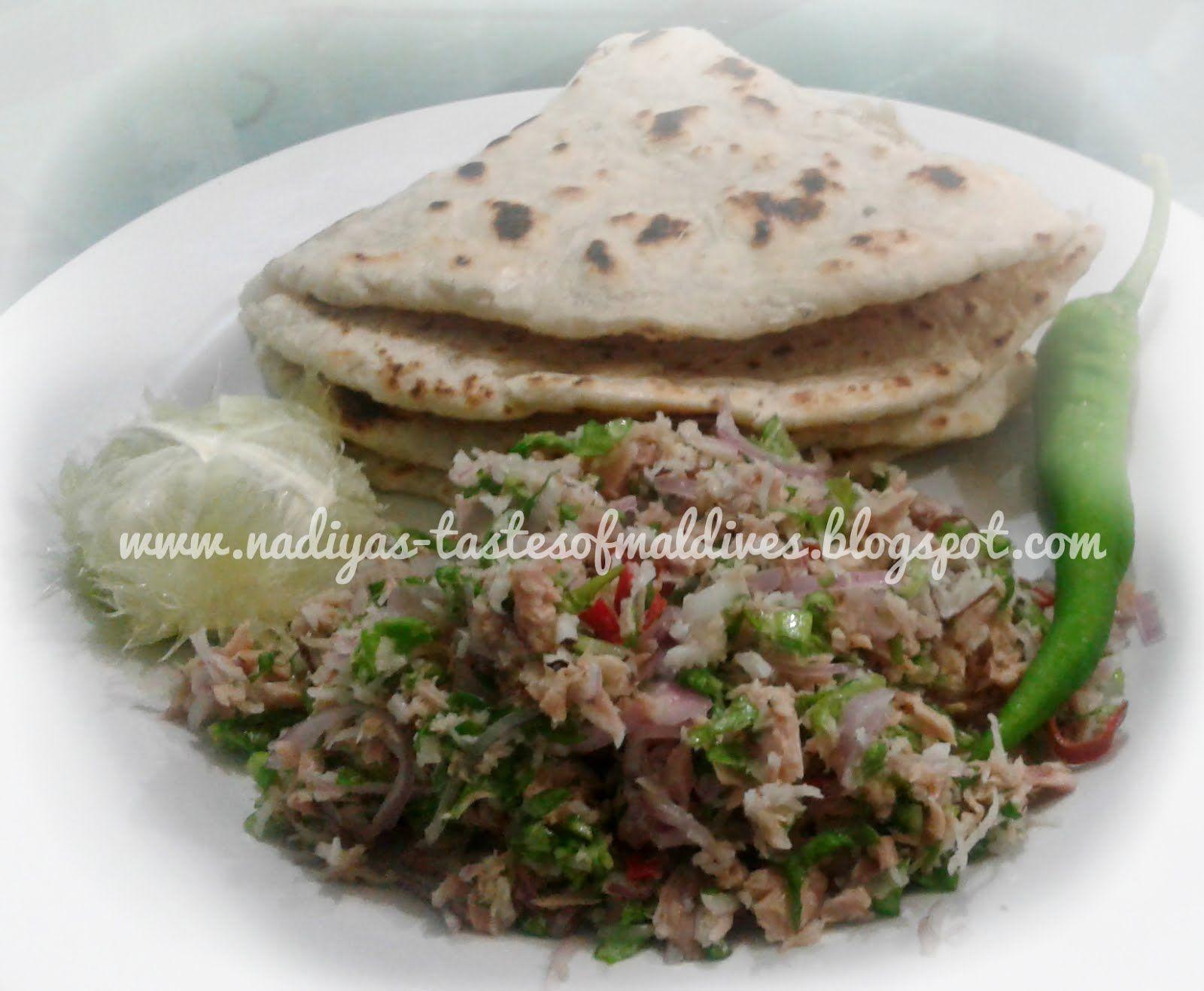 Nadiyas tastes of maldives lettuce mashuni lettuce canned tuna dishes forumfinder Choice Image