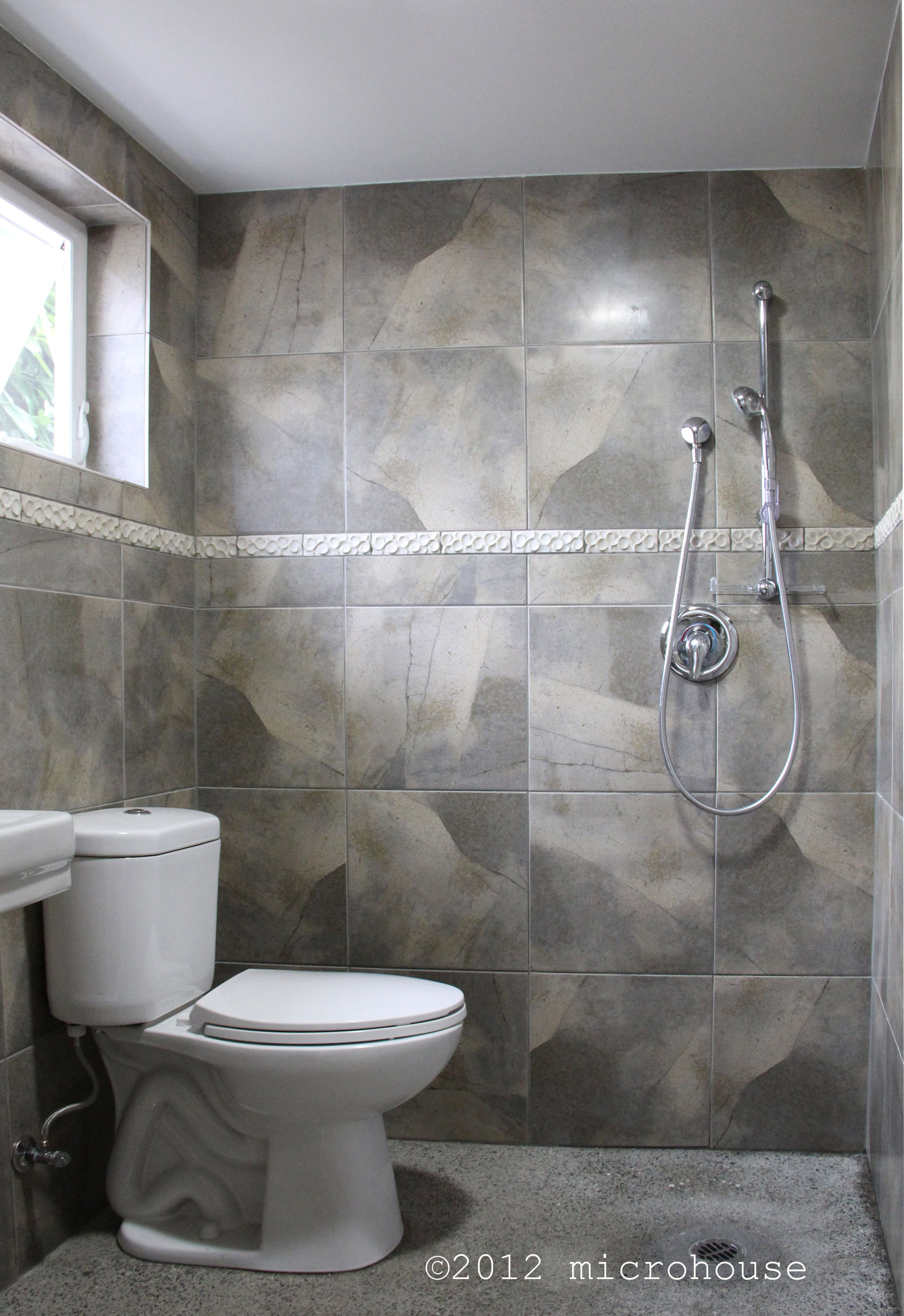 Wet Room Design: A 384 S.f. Backyard Cottage For A Great Grandmother. The