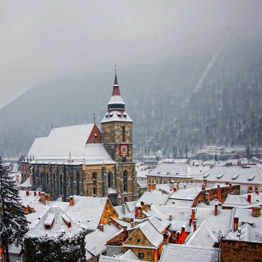 Top Places To Visit Romania: The Black Church - Brasov, Romania #romania