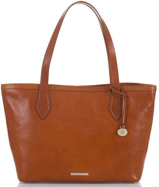 Brahmin Athena Topsail Leather Pouch 399e332441889
