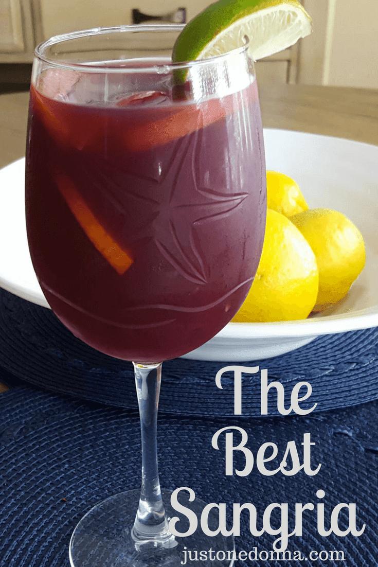 My Favorite Red Wine Sangria