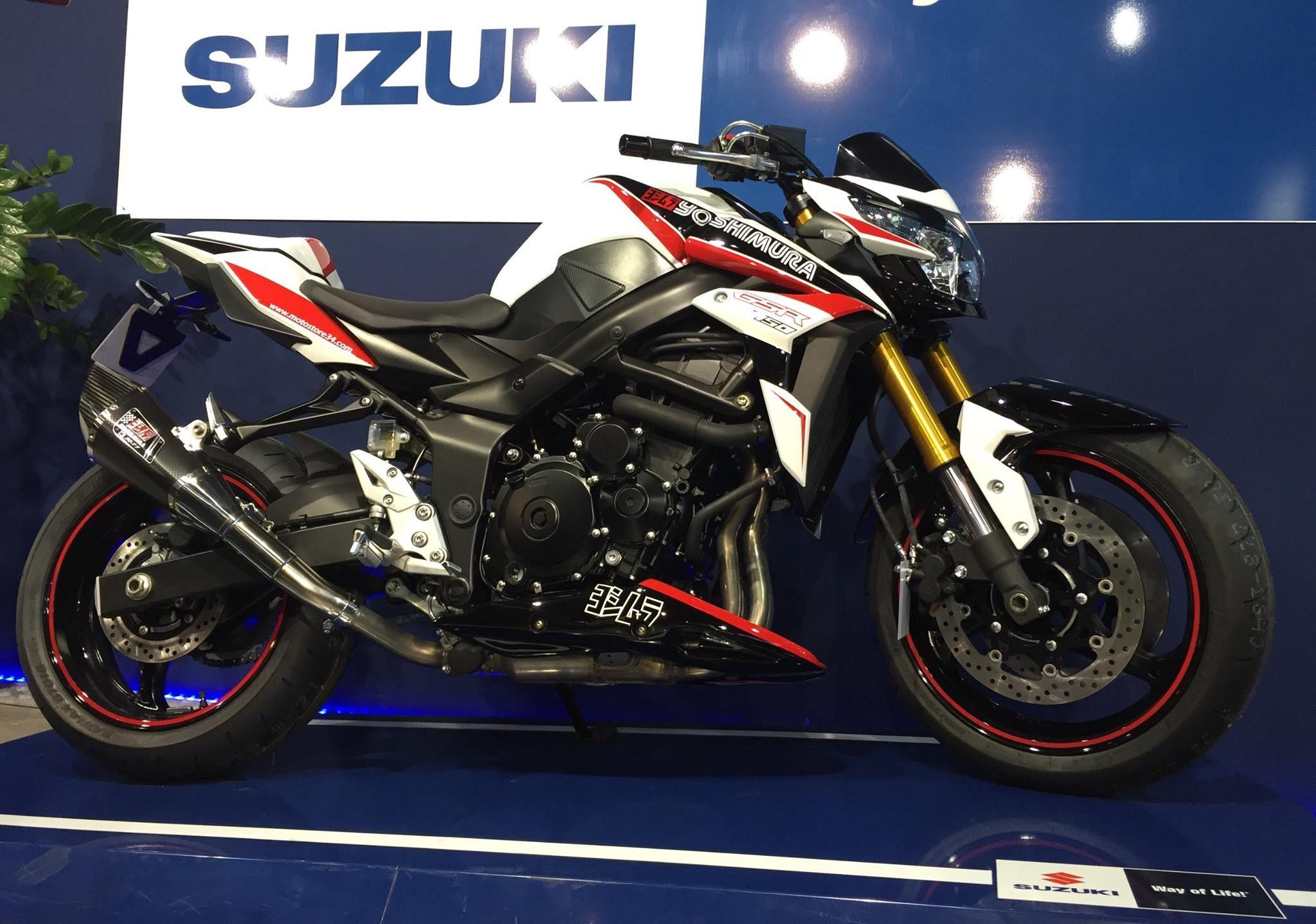 suzuki gsr 750 yoshimura motodream pinterest motos. Black Bedroom Furniture Sets. Home Design Ideas