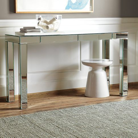 parsons mirrored console