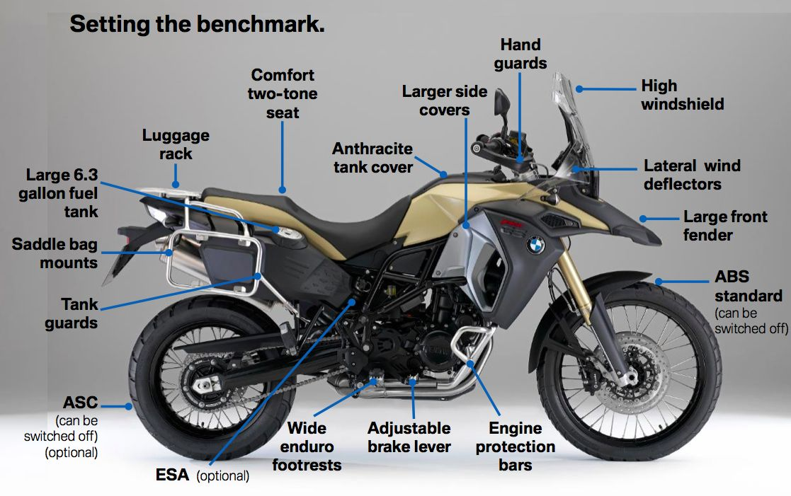 2014 Bmw F 800 Gs Adventure Adventure Bike Touring Motorcycles Adventure Motorcycling