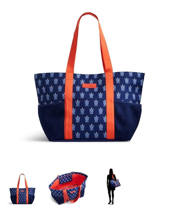 44fd19a54206 Lighten Up Family Tote by Vera Bradley in Turtles. Available now for Summer  2016 at Rogers Jewelers