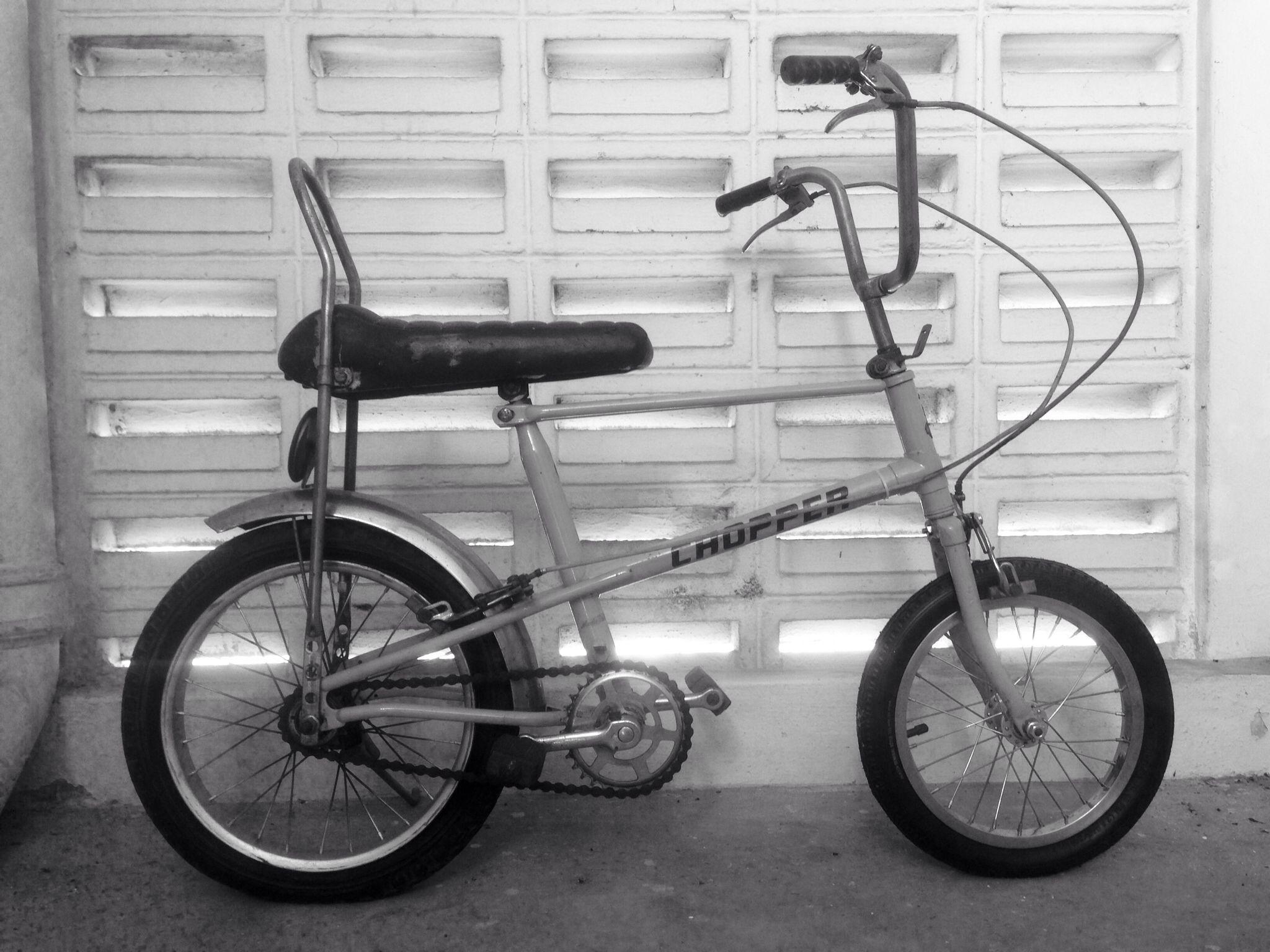 Vintage Classic Chopper Bike Saddle Seat Black NOS