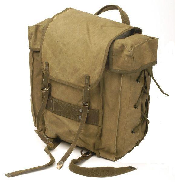 webbingbabel: Italian Army Small Tactical Backpack 80s - Zainetto ...