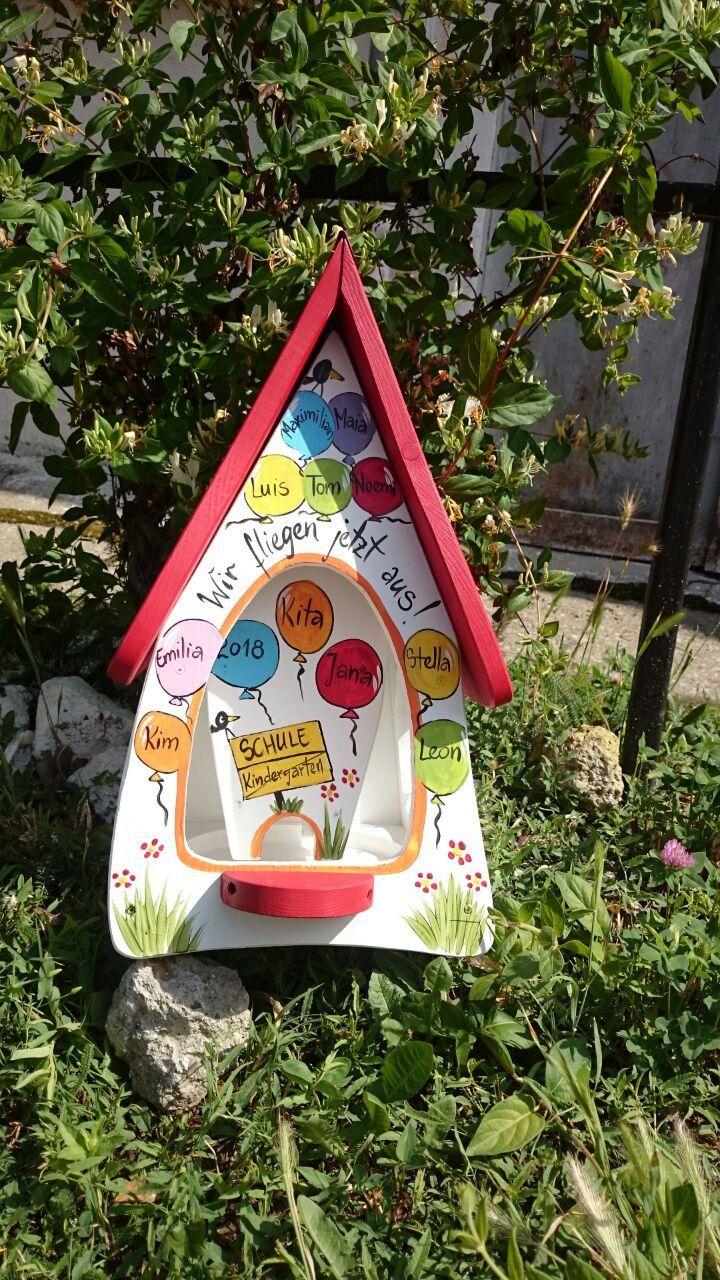 Vogelhaus Kindergarten Abschiedsgeschenk Kinder Erzieherin