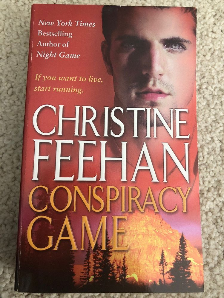 Conspiracy Game Ghostwalkers Book 4 By Feehan Christine Books