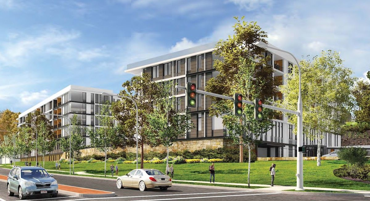 Renderings Have Been Revealed For Waterstone Of Westchester A Forthcoming Senior Living Com Senior Living Communities White Plains New York Real Estate Houses