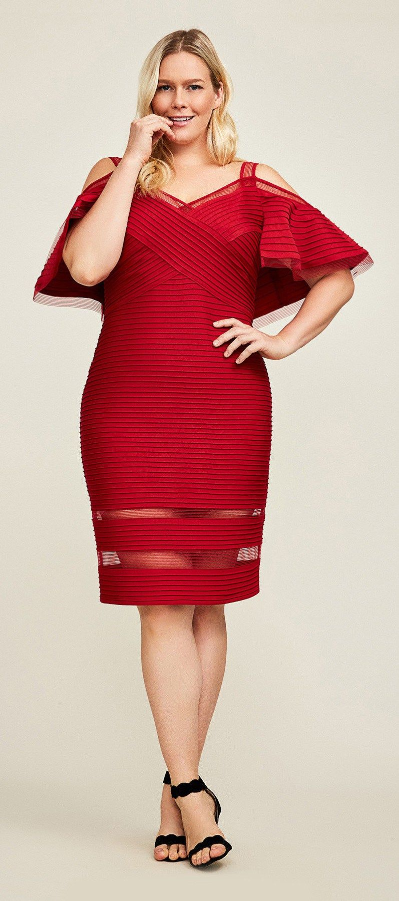 Plus size party dresses for weddings   Plus Size Spring Wedding Guest Dresses with Sleeves  Fashion