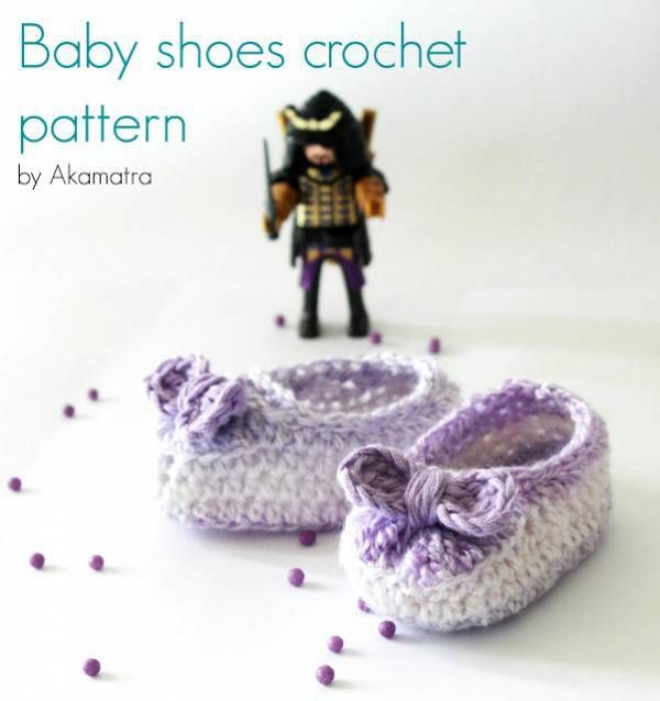 Free pattern – Baby Shoes