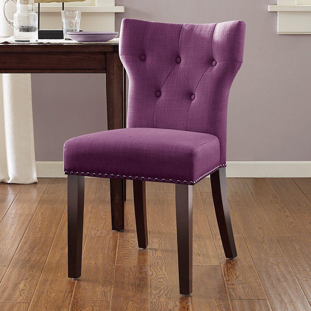 Madison Park Emilia Tufted Back Dining Chair | Emilia ...