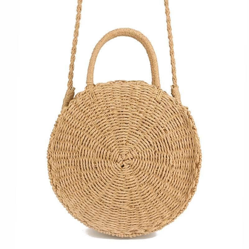 Prettiest rattan bag! So convenient for travel because it has a shoulder  strap. Need this! Handwoven
