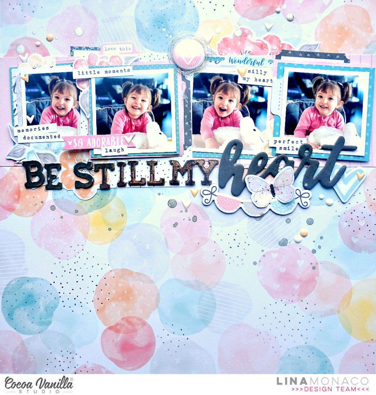 Be Still My Heart | More Than Words | Lina Monaco – Cocoa