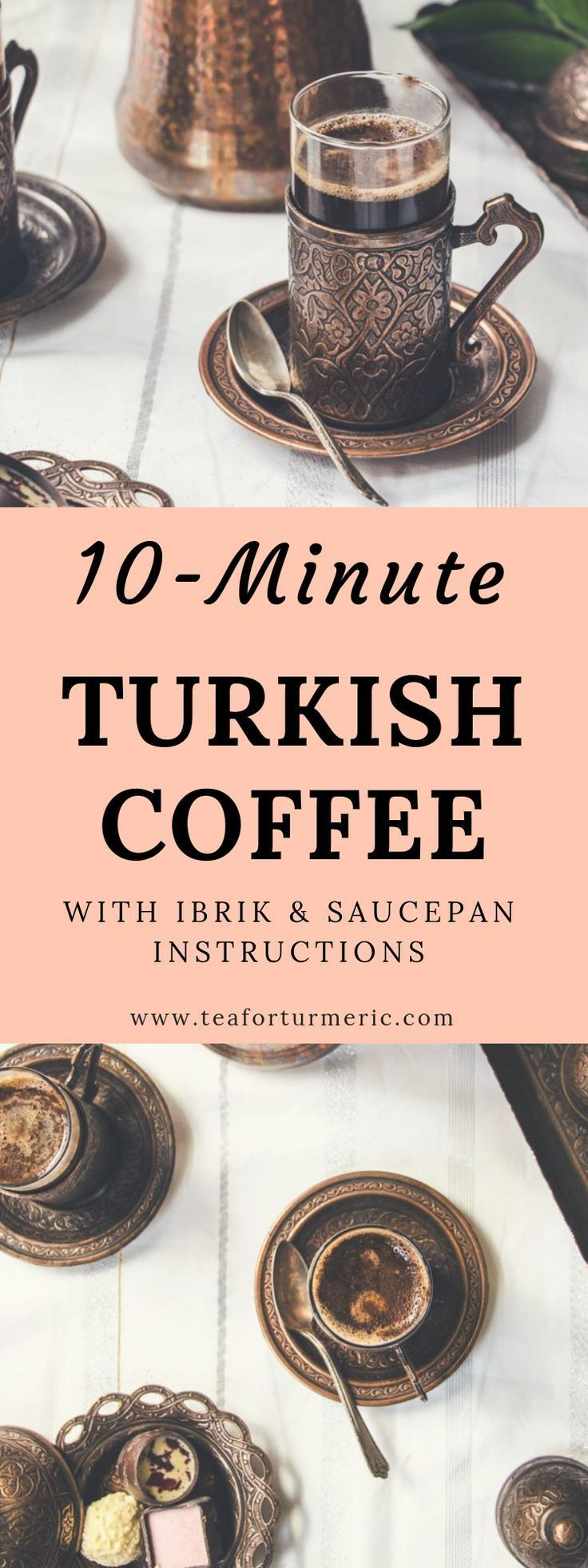 How to make turkish coffee with or without an ibrik