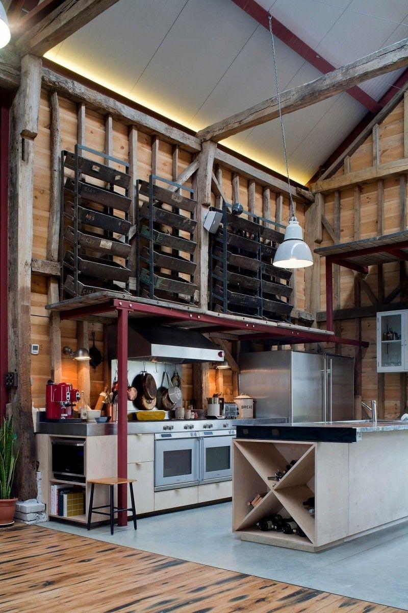 Loft dans une grange par liddicoat goldhill grange - Idee deco loft ...