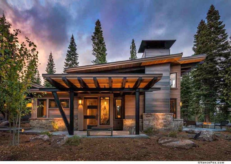 Google Image Result For Https Www Airbnb Com Google Place Photo Photoreference Coqbcwaaadpyxdut Mountain Home Exterior Rustic House Plans Rustic Modern Cabin