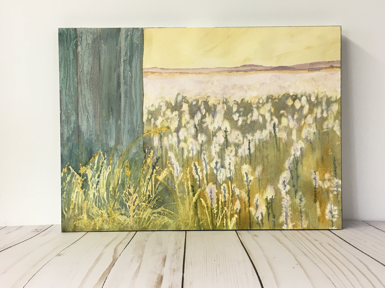 Reclaim, Barn Wall Art- Barn Art Print- Watercolor Print- Farm Art ...