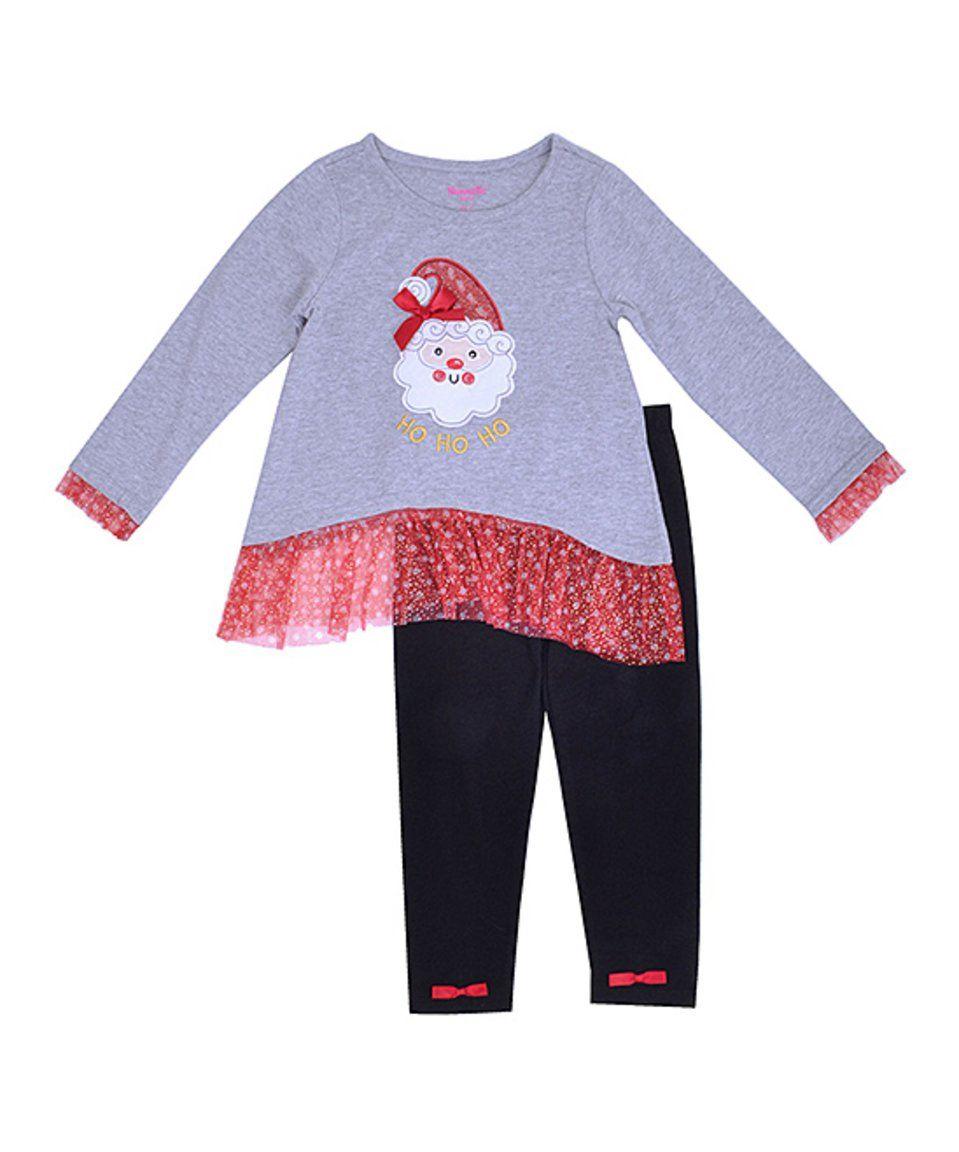 Girls NANNETTE black red snowman Christmas tutu dress 4 4T NWT tulle long sleeve