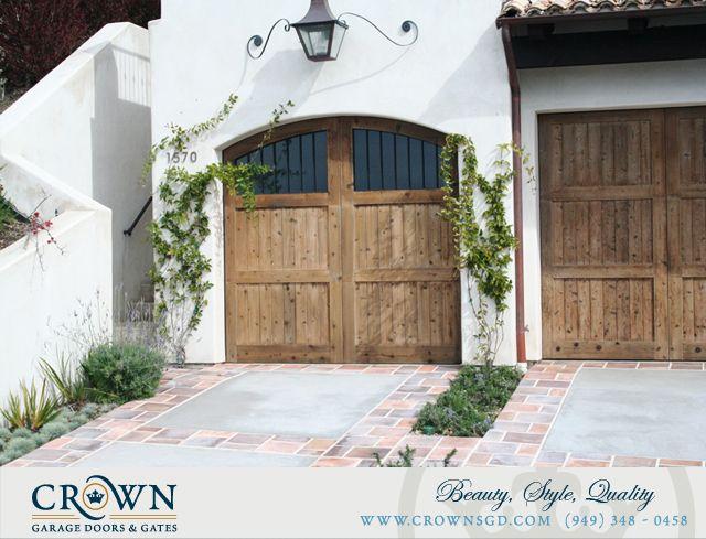 Tuscany Style Garage Doors Custom Made By Crown Garage Door Gates Tuscany House Garage Exterior Custom Garage Doors