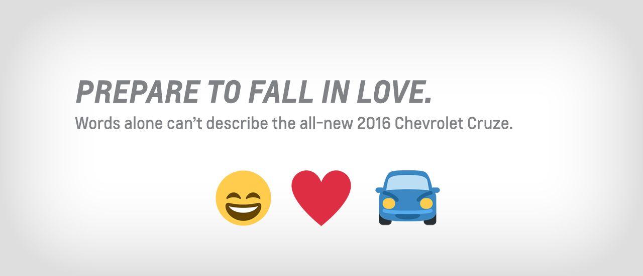 the Emoji Code: All-new 2016 Cruze | Jack Wilson Chevrolet ...