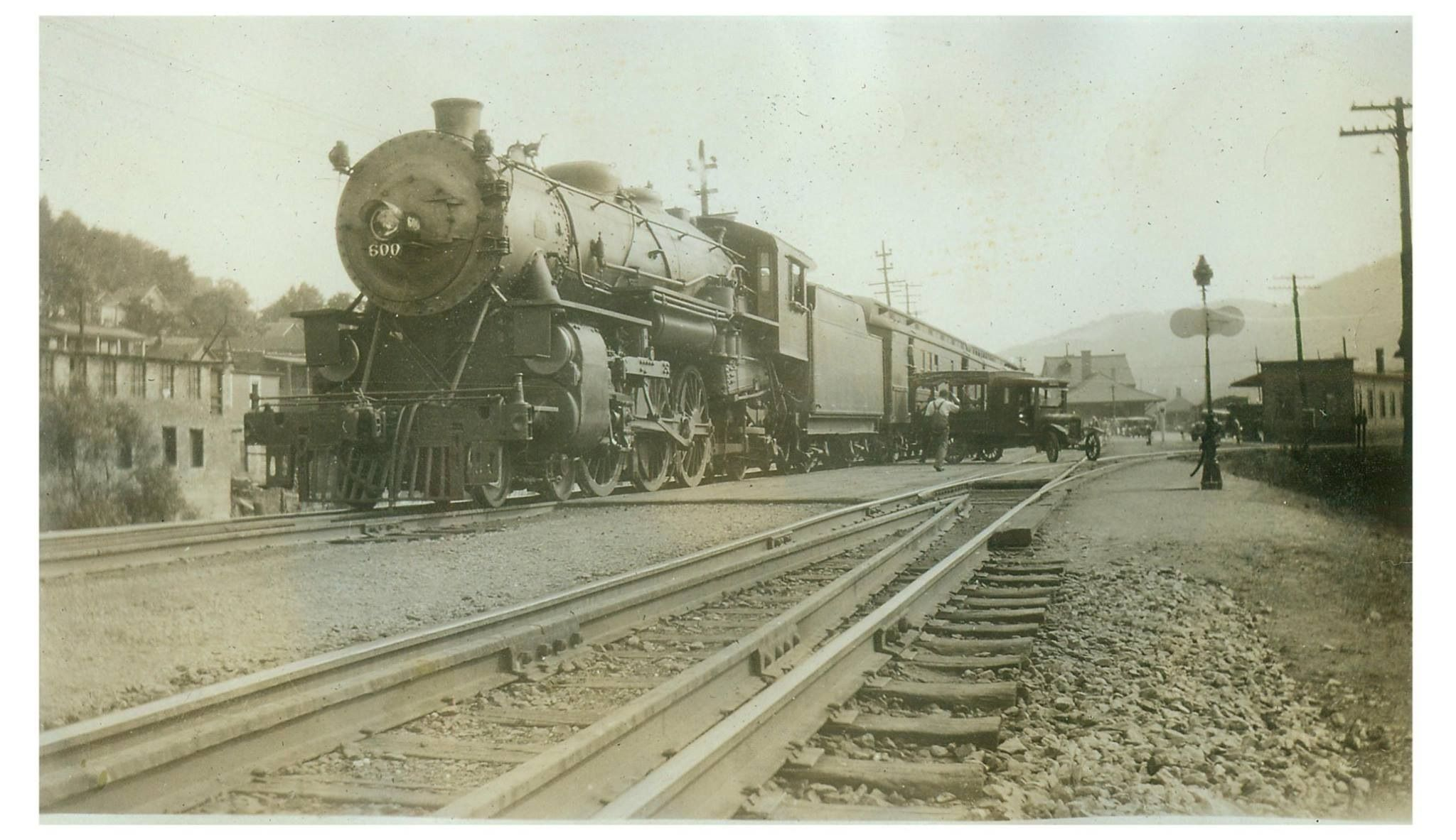 North bound in bradford pa in the twenties with images
