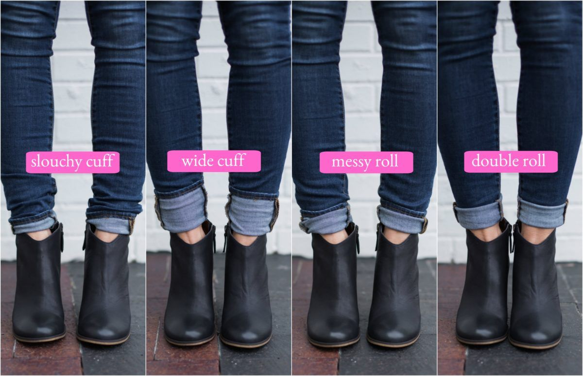Look - How to ankle wear boots with denim video