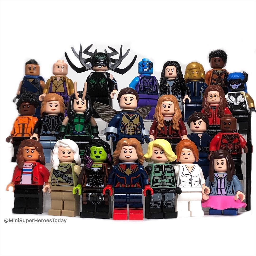 27 SCARLET WITCH MARVEL Avengers Civil War fits lego figure