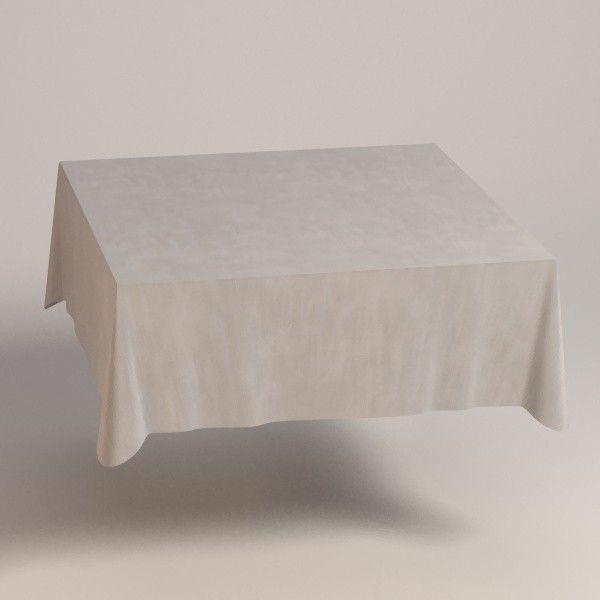 3Dsmax Square Tablecloth   3D Model