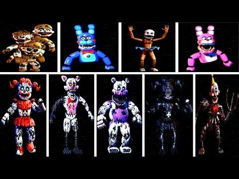 Baby S Nightmare Circus All Animatronics All Jumpscares Extras Youtube In 2021 Nightmare Fnaf Jumpscares Fnaf