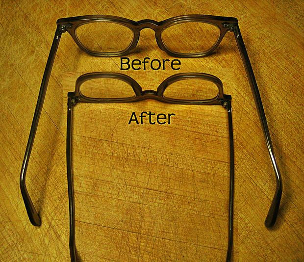 Fix Loose Eyeglasses With A Rubber Band How To Fix Glasses Eyeglasses Fashion And Beauty Tips