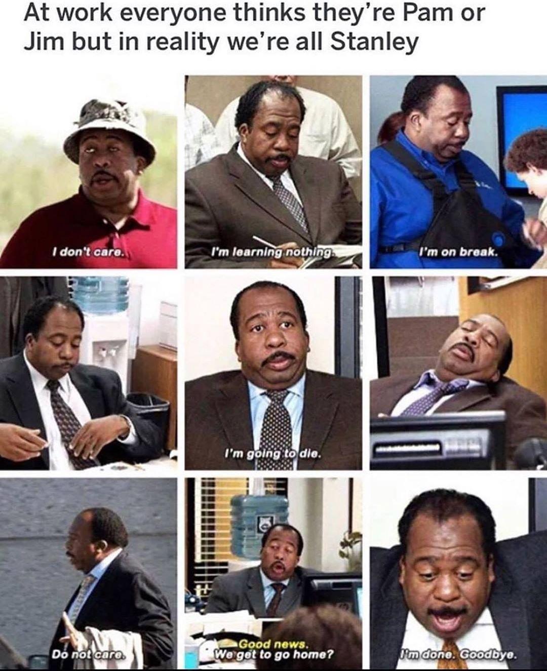 Snap Snap Waitress On Instagram I M Stanley Hudson Stanley Voice Waitress Waiter Waitressproblems Waiterproblem Office Memes Office Humor Office Jokes