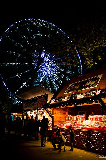 Winter Wonderland, Hyde Park, London, England. #travelnewhorizons