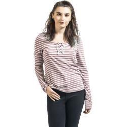 Gina Laura Damen Sweatshirt, Struktur, Stehkragen, angarm, universum-blau, Baumwolle/Polyester/Elast #stitching