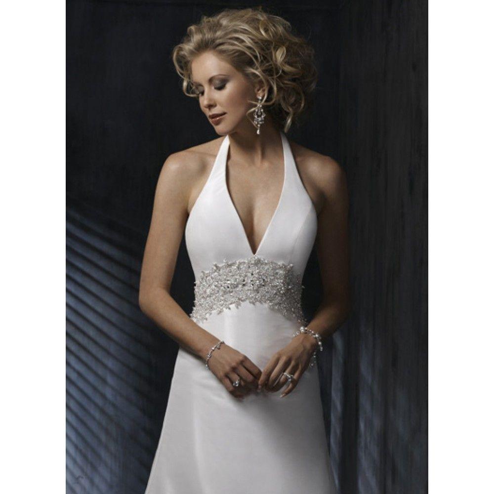 Satin Halter Wedding Dress Wedding Dresses Taffeta Wedding Dress Belt Satin Halter Wedding Dress [ 1000 x 1000 Pixel ]
