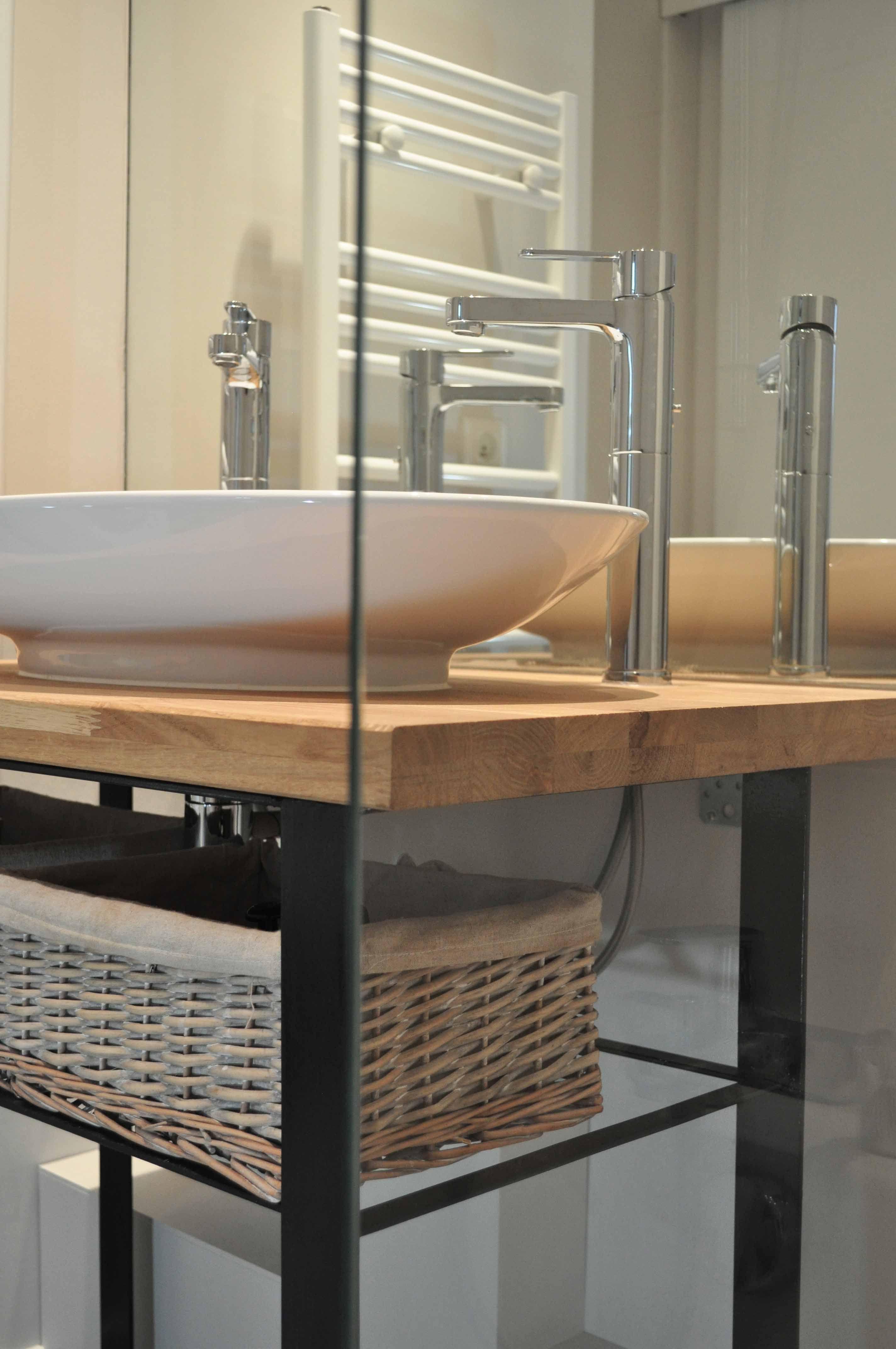 Meuble Salle De Bain Avec Vasque Sur Pied