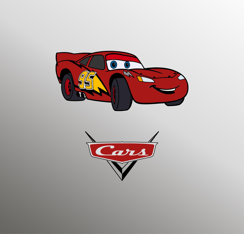 Lightning McQueen svg, Сars svg, Mcqueen svg, Disney Cars