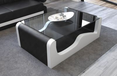 Pin By Ladendirekt On Tische Leather Coffee Table Table Sofa