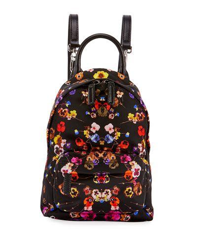244599e92435 Nano Pansies Floral-Print Backpack