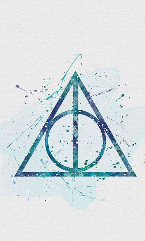 Deathly Hallows - Harry Potter Wallpaper