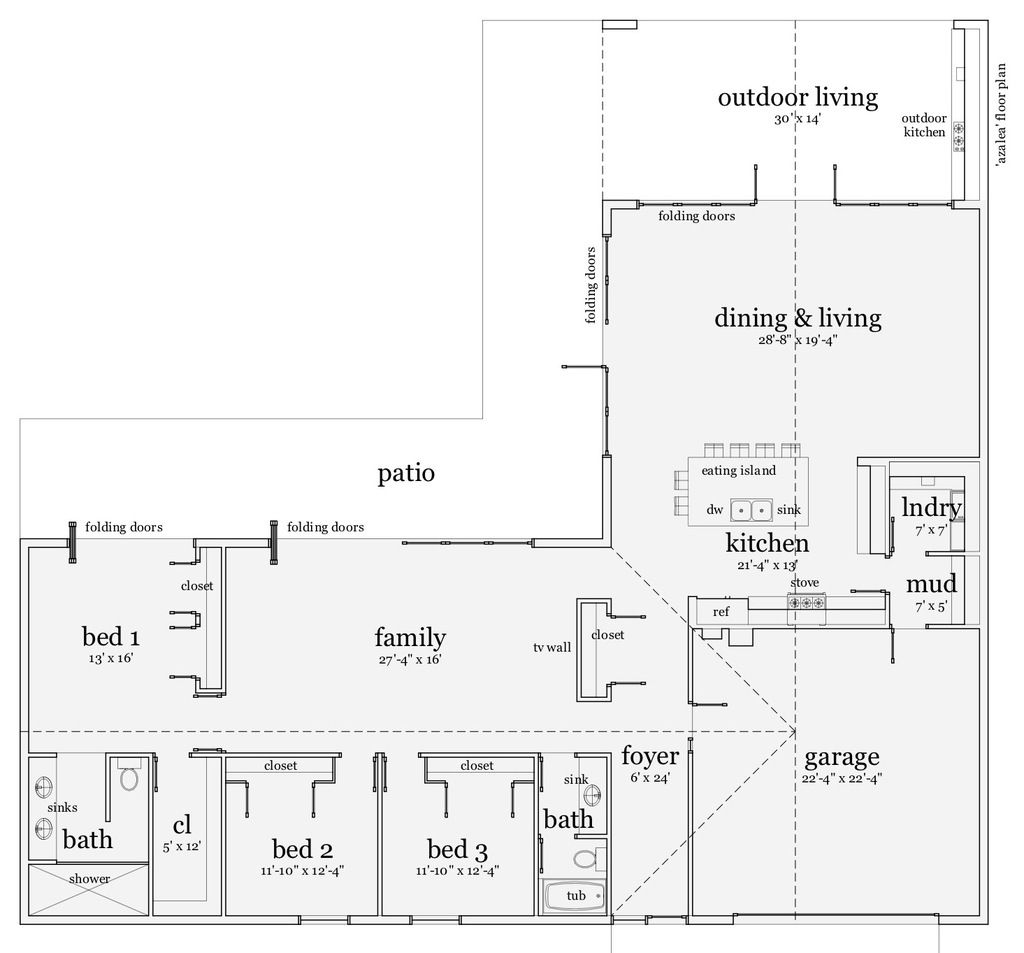 Ranch House Plan 64 170 From Houseplans Com Unique House Plans Ranch Style House Plans Castle House Plans