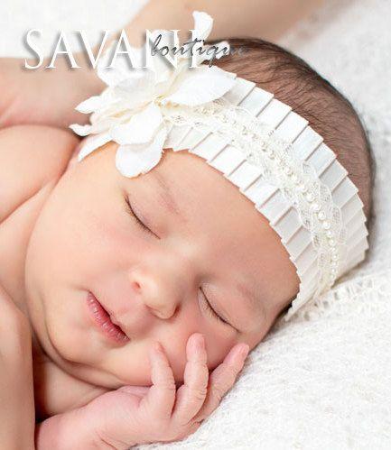 ivory+baby+headband+shabby+chic+roses+headband+by+SAVANIboutique,+$14.99