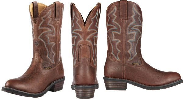 0631da76a71 Ariat's Ironside H2O boots are made with full-grain waterproof ...