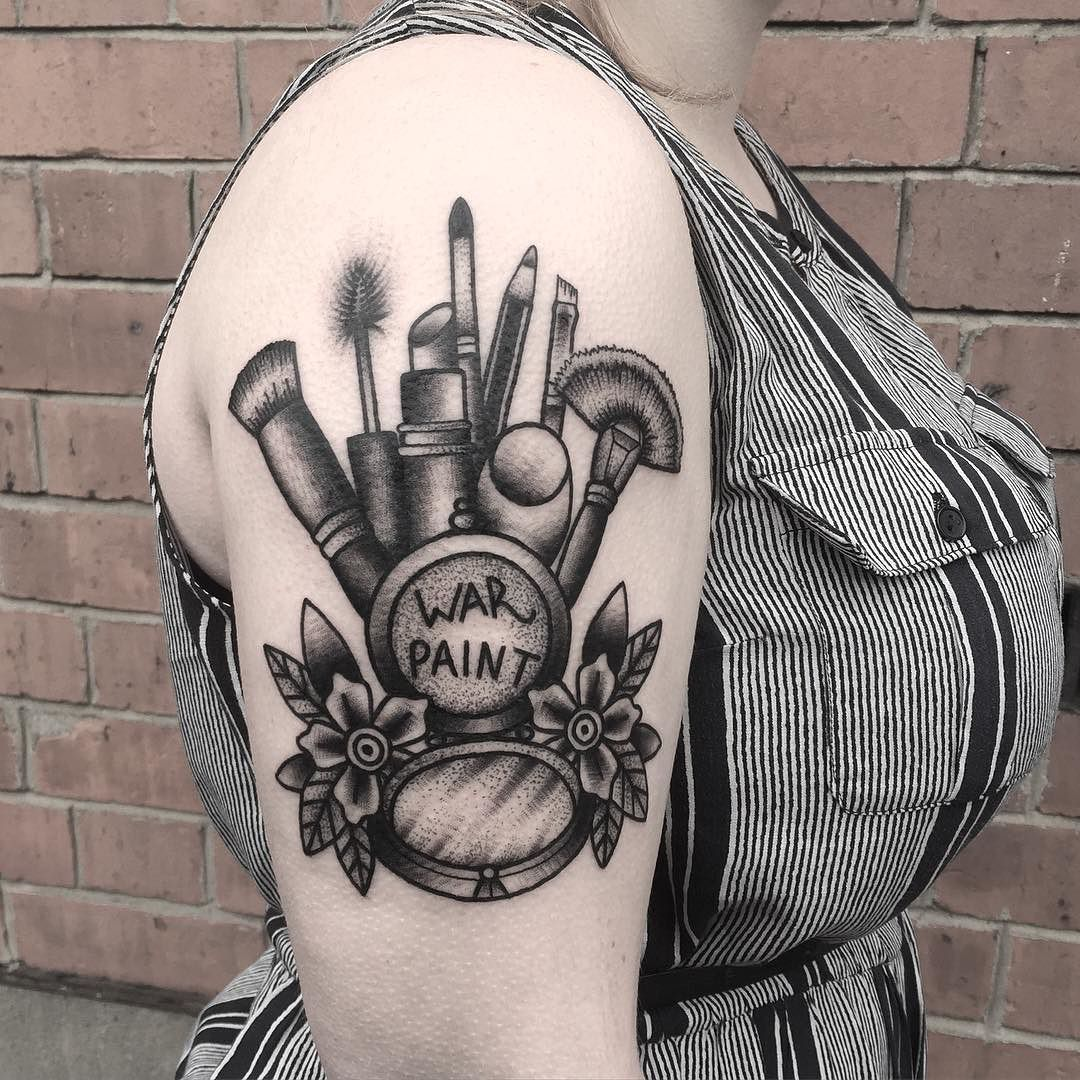 Thank you Shauna by art.tattoos Makeup tattoos