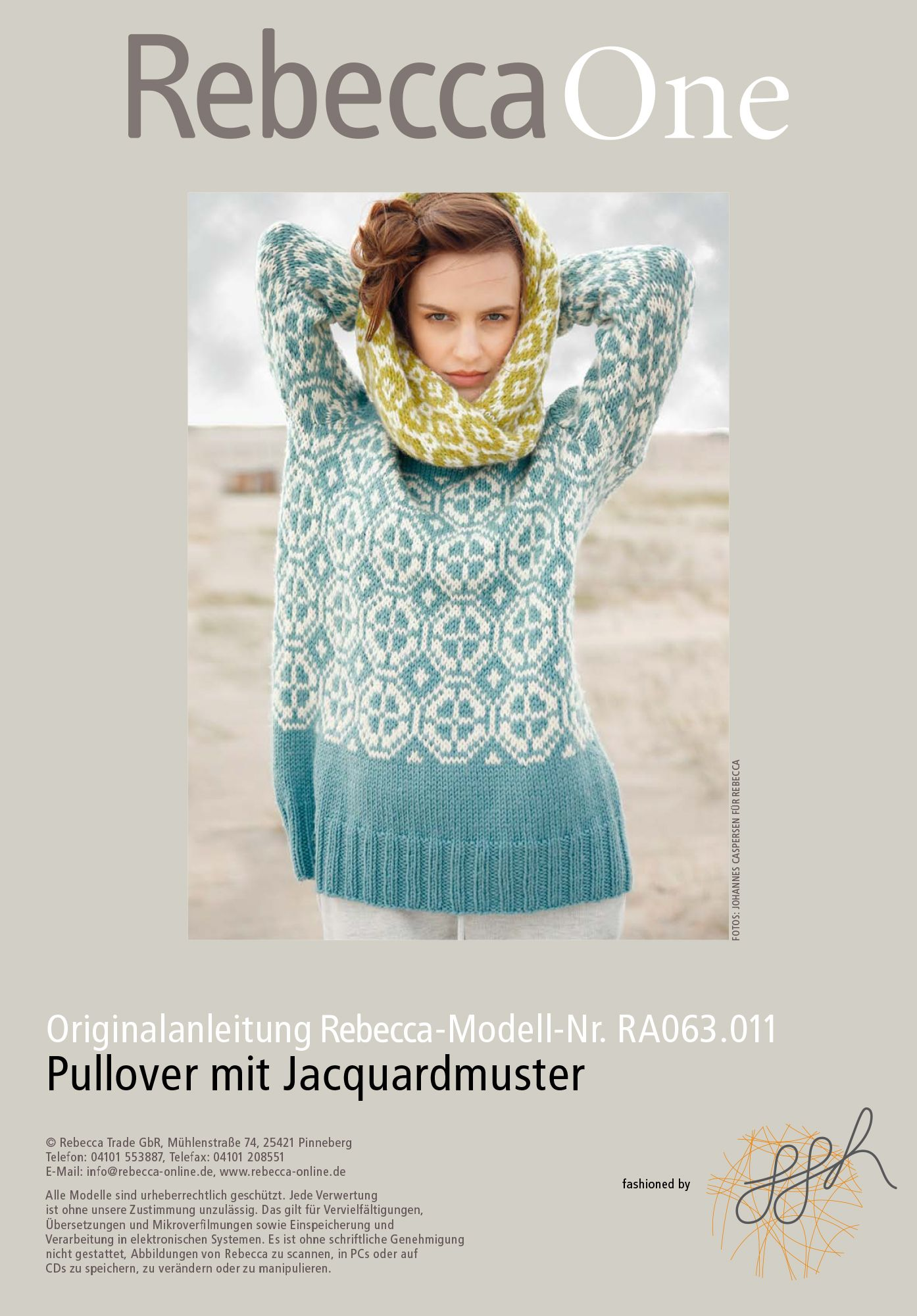 new product 23275 cf6f7 Pullover mit Jacquardmuster | KNITTING Sweater/Pullover ...