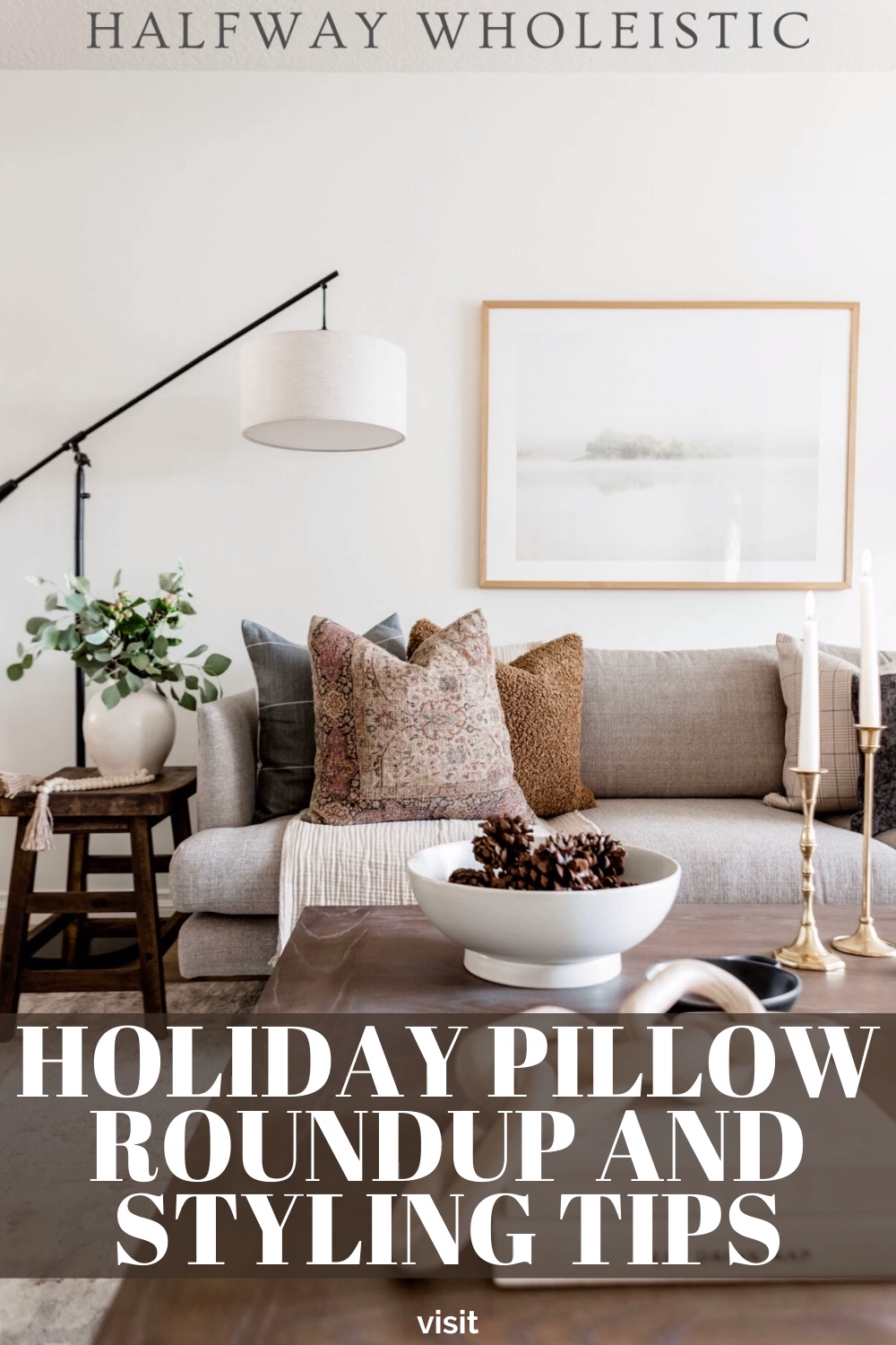Photo of HOLIDAY PILLOW ROUNDUP AND STYLING TIPS