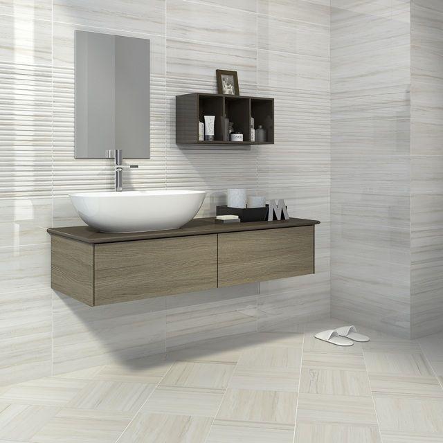 55 idees de carrelage design pour votre salle de bains moderne d co contemporaine bathroom. Black Bedroom Furniture Sets. Home Design Ideas