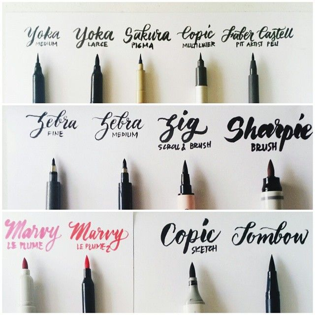 guide to brush lettering brush lettering gives designs a handmade ...